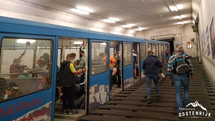 Mölltaler Gletsjer trein