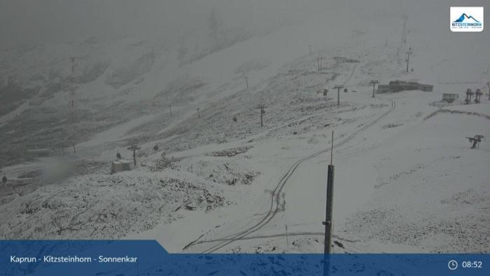 Kaprun sneeuw 4 aug 2020