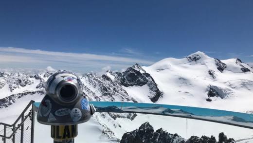 Pitztaler Gletsjer komend weekend FANtastisch uitzicht!