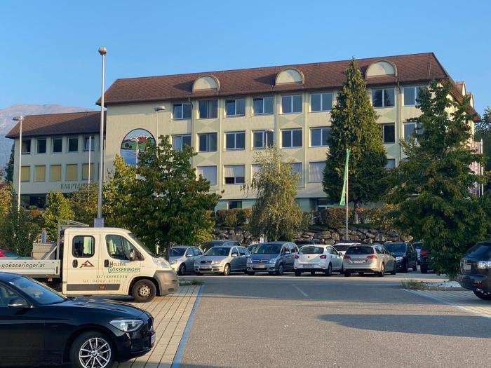 De school in Seeboden
