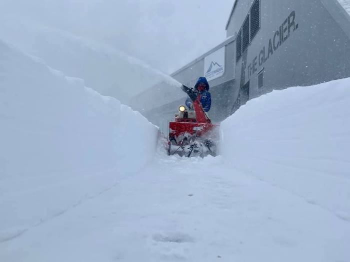 Kitzsteinhorn Kaprun sneeuwfrees 26 september 2020