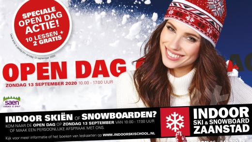 Opendag Indoor Ski & Snowboard Zaandam