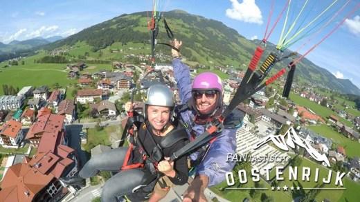 Paragliden in Oostenrijk VIDEO