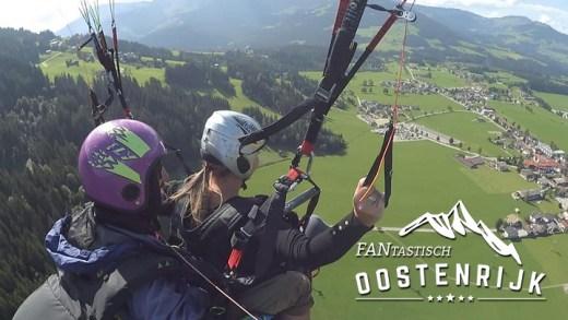Paragliden in Westendorf Lindsey Kieboom-Overvliet