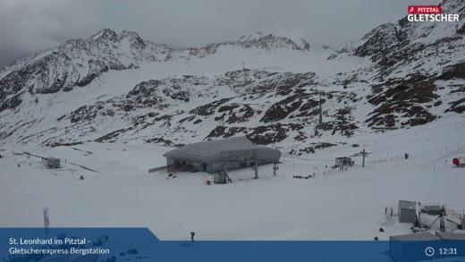 Webcams Oostenrijk Gletsjer 23 oktober 2020