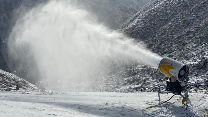 Pitztal Rifflsee Sneeuwkanonnen 21 november 2020