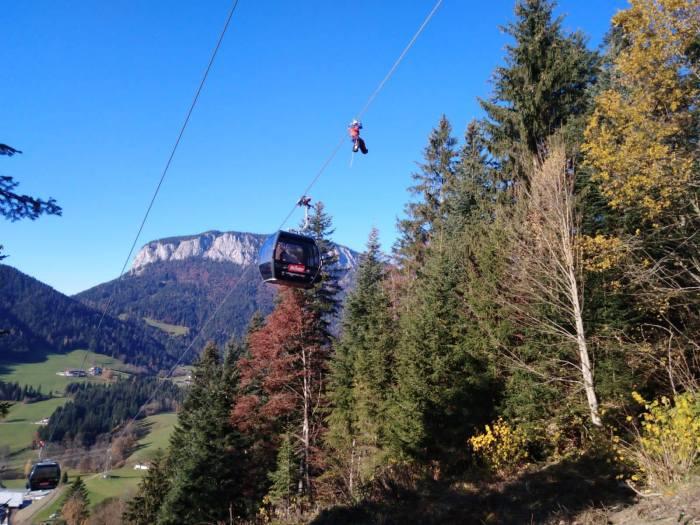SkiWelt Itter Salvistabahn training