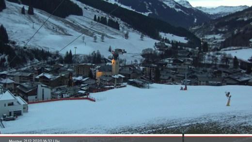 sneeuw kerst Saalbach