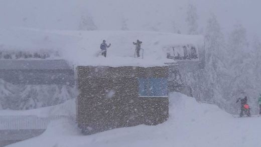 Tot wel 4 meter sneeuw in Oost-Tirol