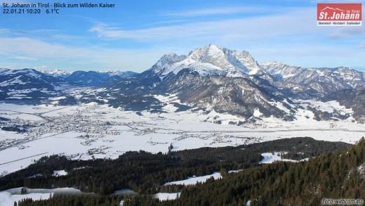 Webcams Oostenrijk 22 januari 2021