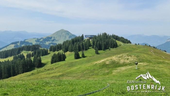 Brixen im thale vanaf Jochbahn naar Hohe Salve