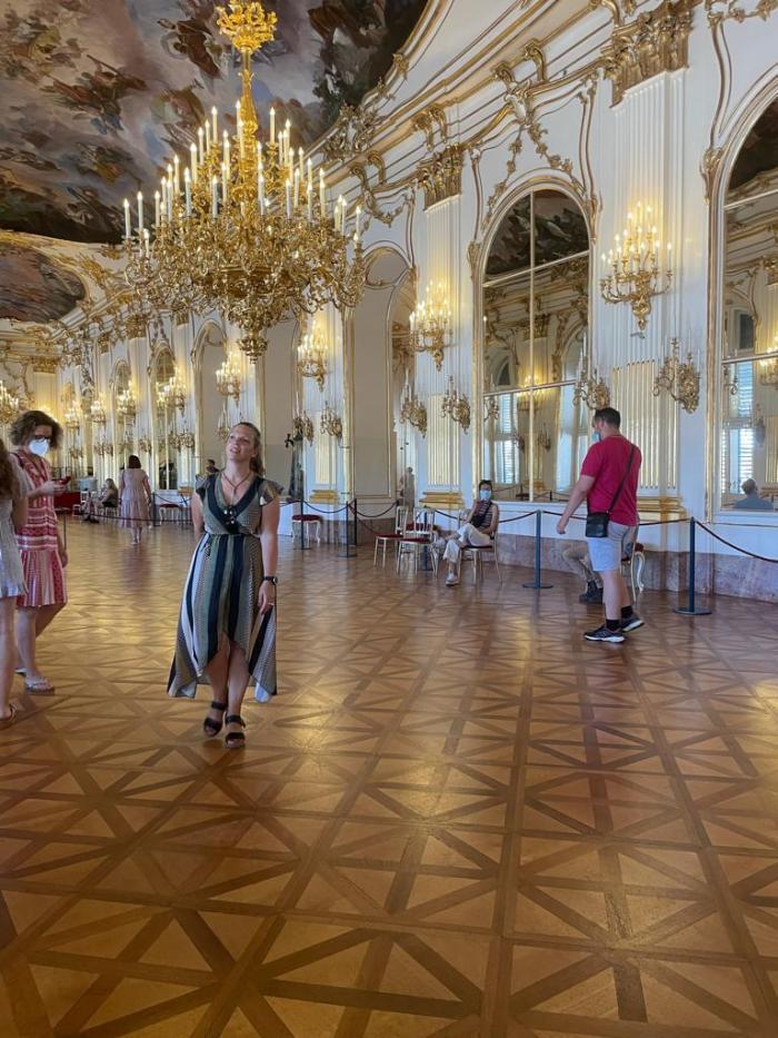 Wenen Schönbrunn grote feestzaal