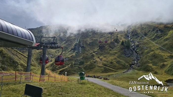 Kaprun Kitzsteinhorn 18 september 2021 gletsjerjet 2