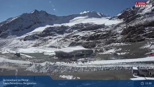 Webcams Oostenrijk Gletsjers 21 september 2021
