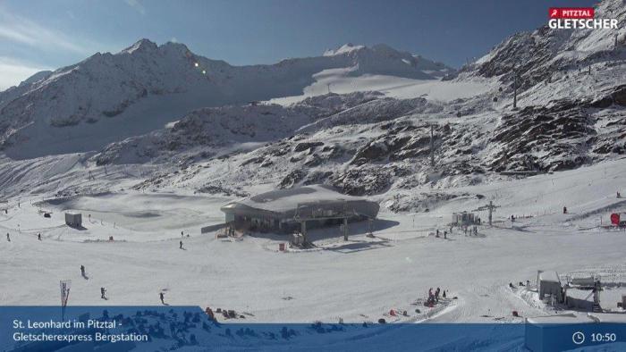 Pitztaler Gletsjer 8 oktober 2021