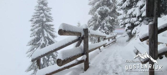 Westendorf sneeuwdump 30 cm 13 oktober 2021