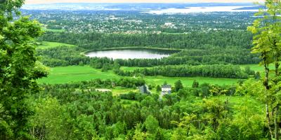 Utsikten fra Gråmagan i Bærumsmarka - Oslomarka - Fantastiske marka