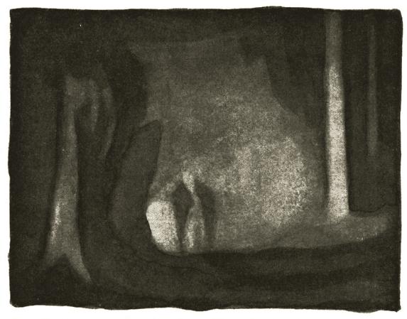Illustrasjon fra EN Jegers Erindringer av Bernhard Herre - Oslomarka - Nordmarka - Fantastiske marka