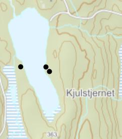 Teltplasser ved Kjulstjernet - Oslomarka - Lillomarka - Fantastiske marka