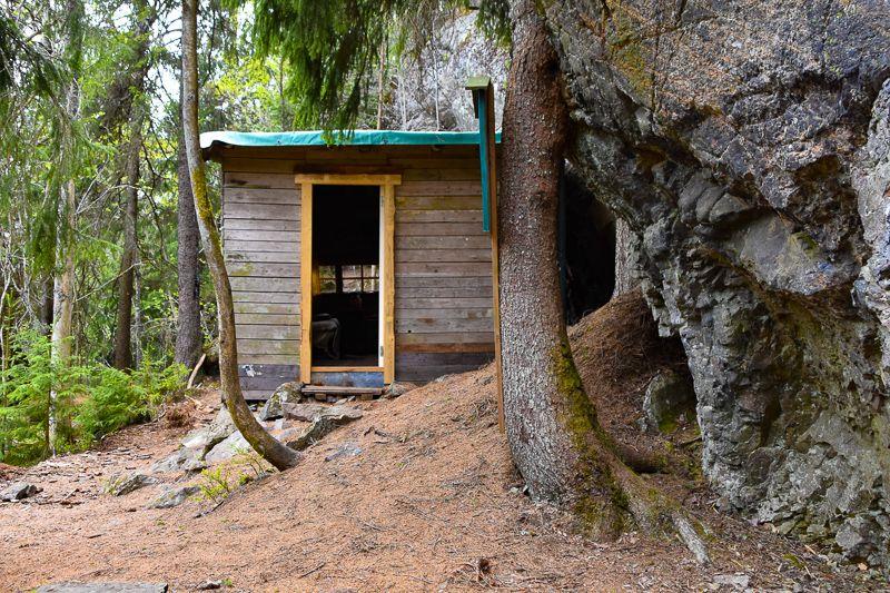 Uteliggerhytta til Harald Grande ved Grefsenkollen - Oslomarka - Lillomarka - Fantastiske marka