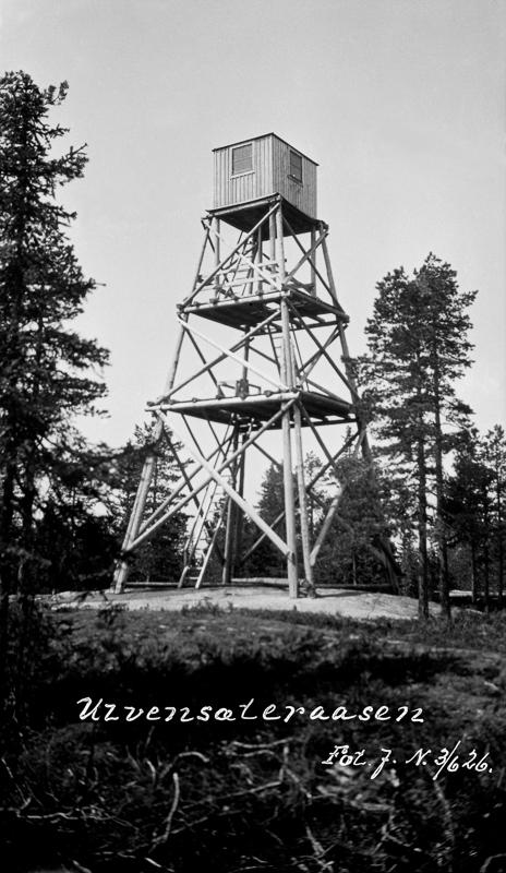 Julius Nygaard - Haukåsen - Anno Norsk Skogmuseum - 1926