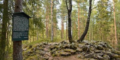 Sporene etter bygdeborgen i Maridalen - Oslomarka - Nordmarka - Bygdeborger - Oldtidsminner - Fantastiske marka