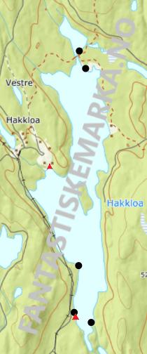 Teltplasser hengekøyeplasser leirplasser på Hakkloa - Oslomarka - Nordmarka - Fantastiske marka