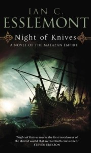Night of Knives (Malazan Empire, #1) by Ian C. Esslemont