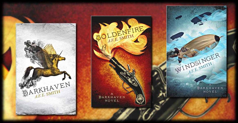 The Darkhaven Series by A.F.E. Smith