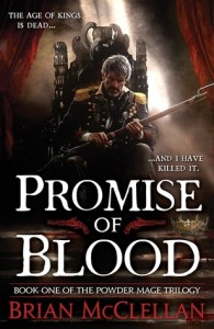 Promise of Blood (Powder Mage) by Brian McClellan