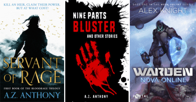Books by A.Z. Anthony/Alex Knight