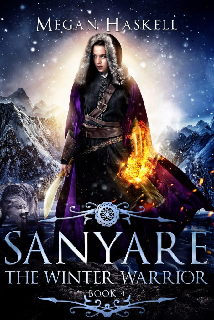 The Winter Warrior (Sanyare) by Megan Haskell