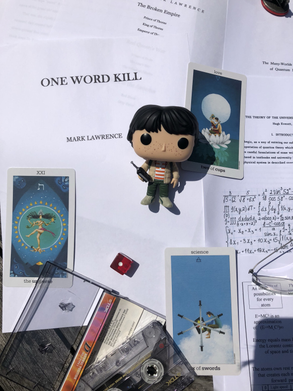 One Word Kill (Impossible Times) by Mark Lawrence