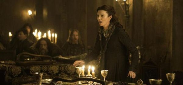 Catelyn Stark at the Red Wedding