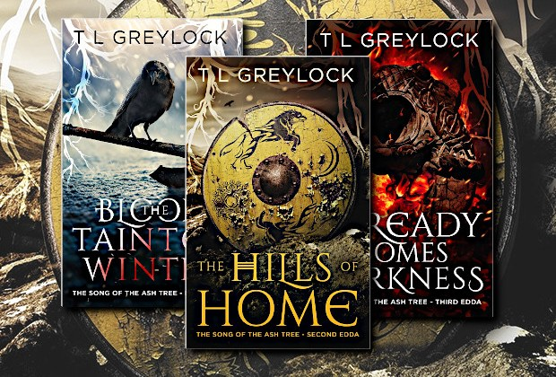 The Hills of Home (Song of the Ash Tree) by T L Greylock (Fantasy Hive Featured Image)