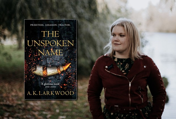 A.K. Larkwood, author of THE UNSPOKEN NAME (Serpent's Gate)