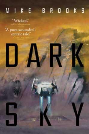 Dark Sky (Keiko) by Mike Brooks