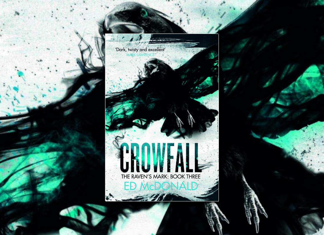Crowfall (Raven's Mark) by Ed McDonald