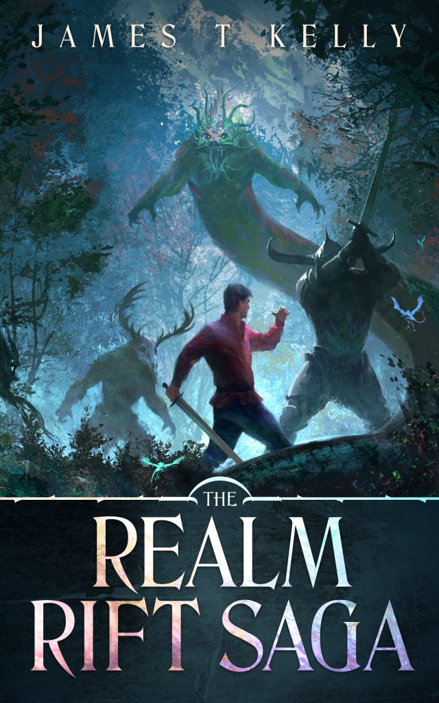 The Realm Rift Saga by James T. Kelly