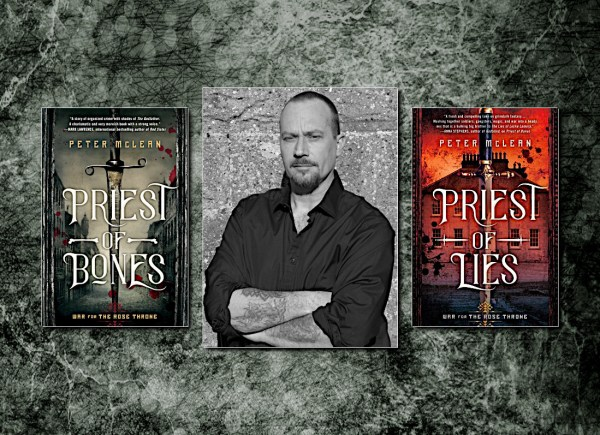 Peter McLean, author of The War for the Rose Throne