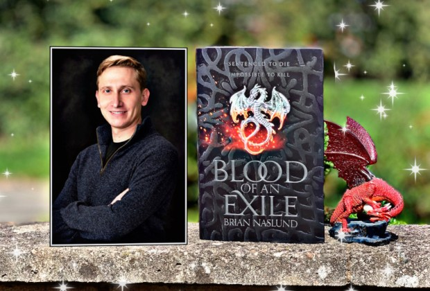 Brian Naslund, author of BLOOD OF AN EXILE (Dragons of Terra)