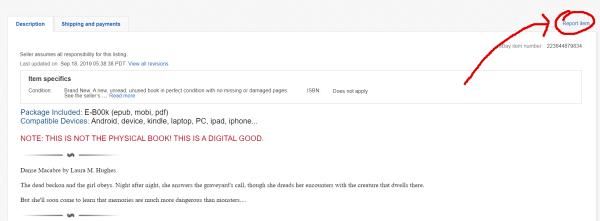 Ebay Ebook Piracy A Brief Guide The Fantasy Hive