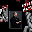 Tyler Hayes, author of The Imaginary Corpse