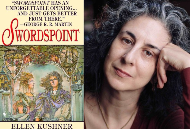 Ellen Kushner, author of Swordspoint