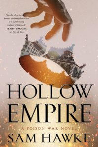 Hollow Empire (Poison Wars) by Sam Hawke