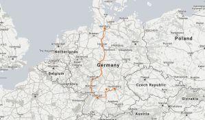 Fantasy Aisle Germany itinerary map
