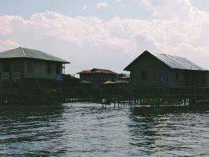 Myanmar Tourism, Inle Lake, houses on stilts Myanmar
