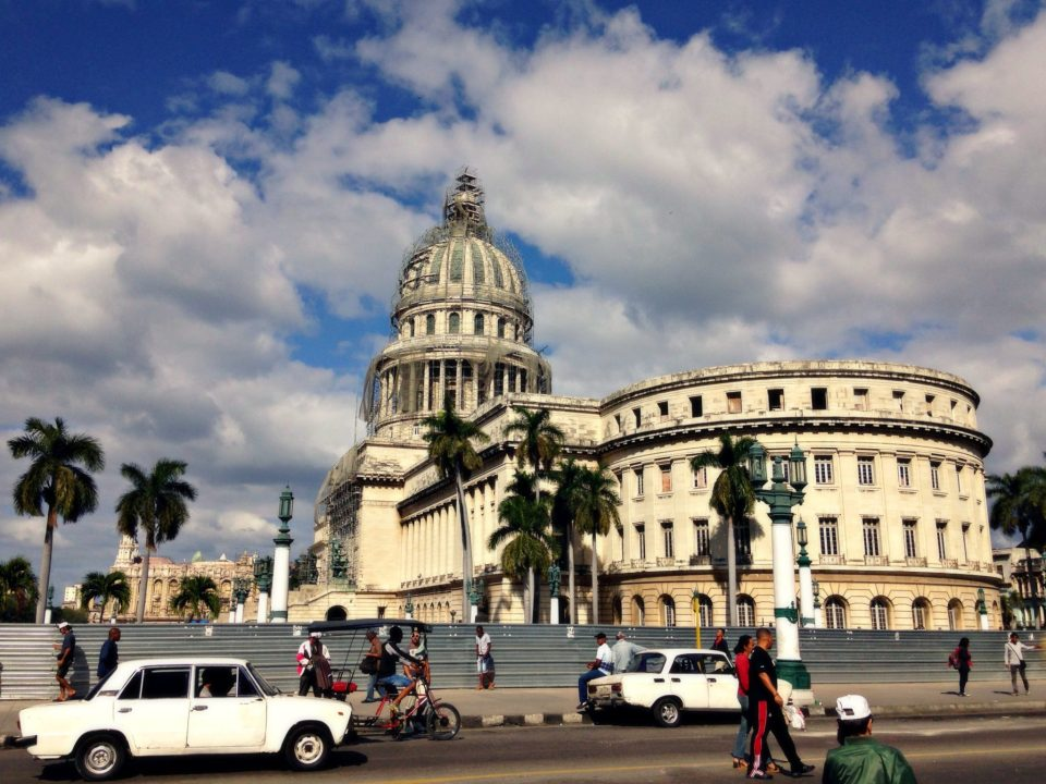 Old Havana former Capitol before Communism