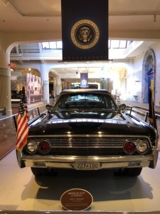Fantasy Aisle, Car that drove John F. Kennedy's when he was shot. On view at the Henry Ford Museum