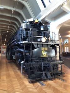 Fantasy Aisle, Allegheny locomotive designed for the Chesapeake & Ohio Railway at the Henry Ford Museum